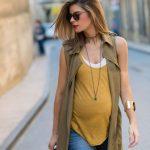 ¡Las futuras madres también pueden lucir a la moda!