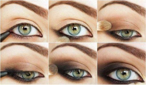 Maquillaje para resaltar los ojos hundidos