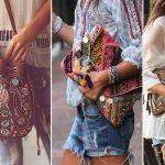 La moda de los bolsos boho chic o bohemia para mujer