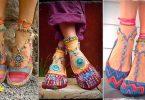 Distintos tipos de modelos de sandalias bohemias