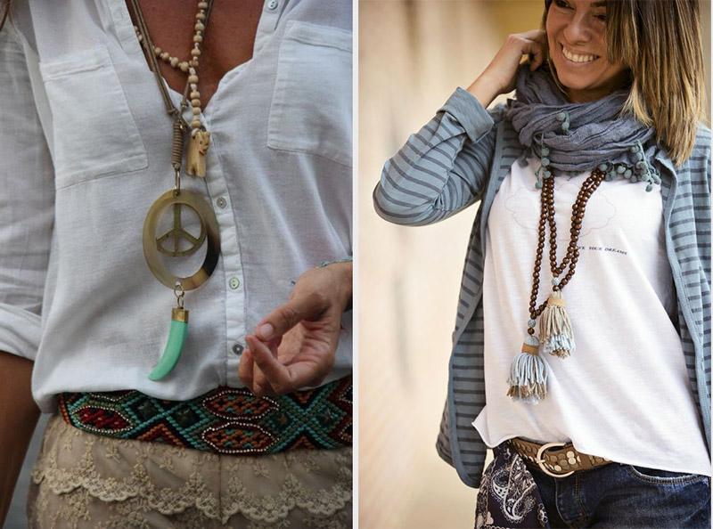 Mujeres con cinturones chic y a la moda
