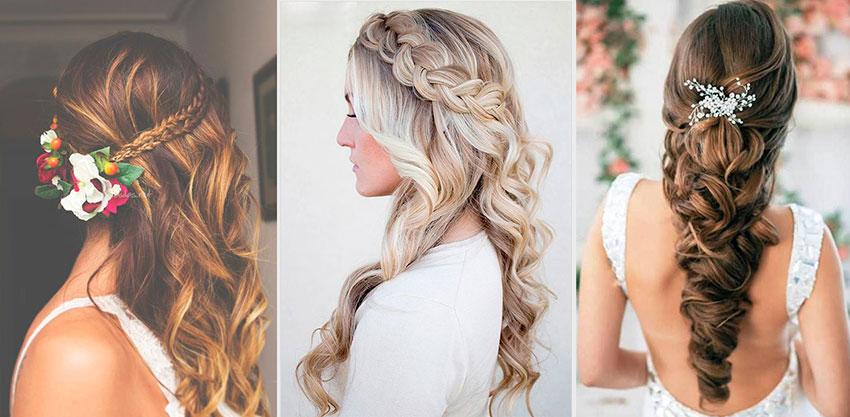 Diversos peinados para novias que son tendencia este 2017