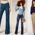 Moda retro: volvieron los pantalones acampanados