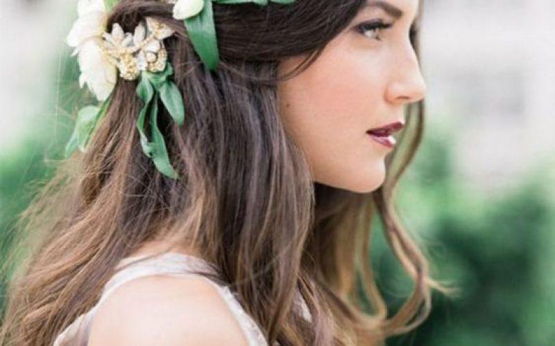 peinados de novia 2017 15