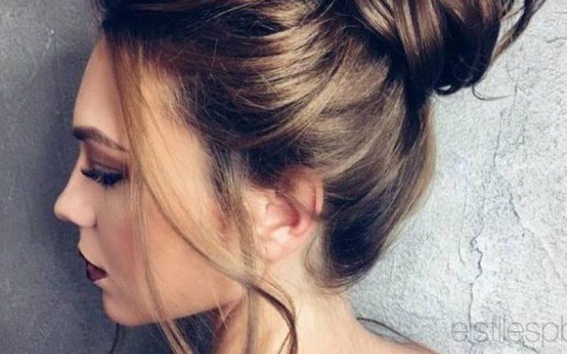 peinados para novias 2017 9