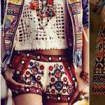 10 pantalones cortos boho chic y bohemios para chicas