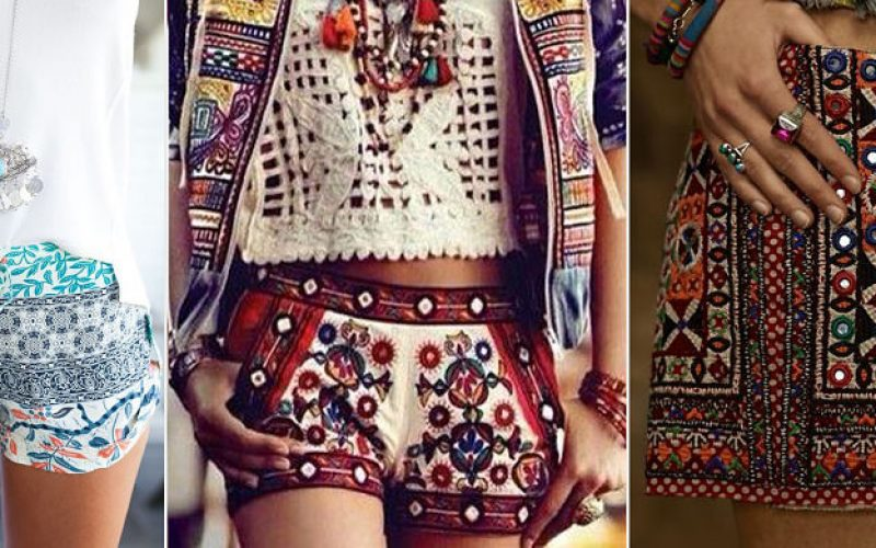 pantalones boho chic para mujeres
