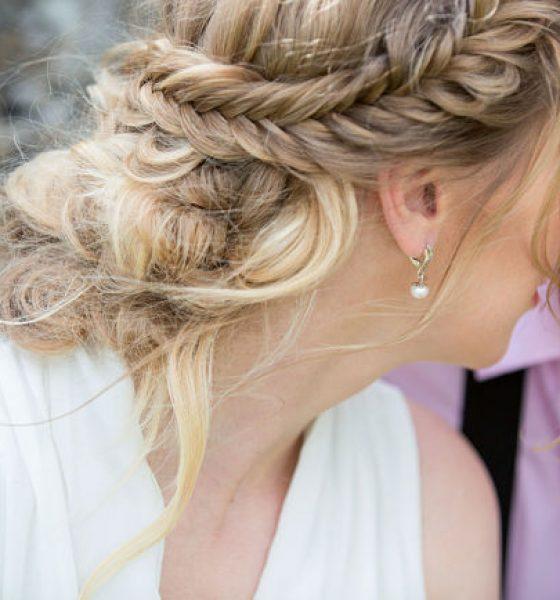 Peinados de trenzas para novias tendencia este 2017