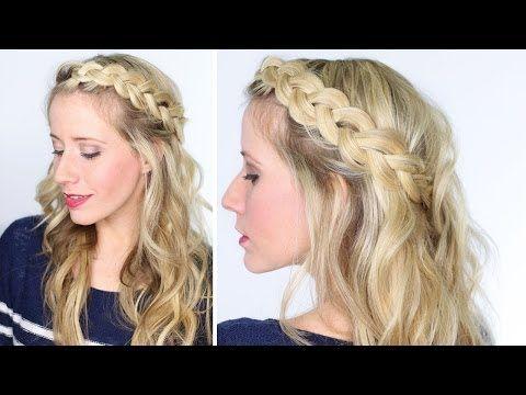 un peinado para novia con trenzas bohemias