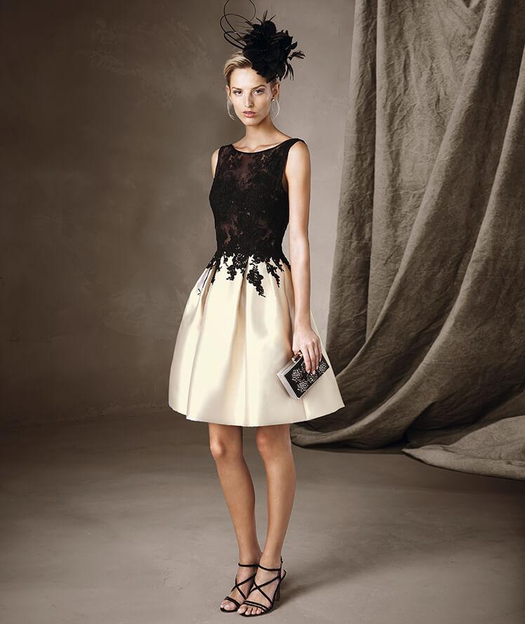 Pronovias para invitadas con vestido corto