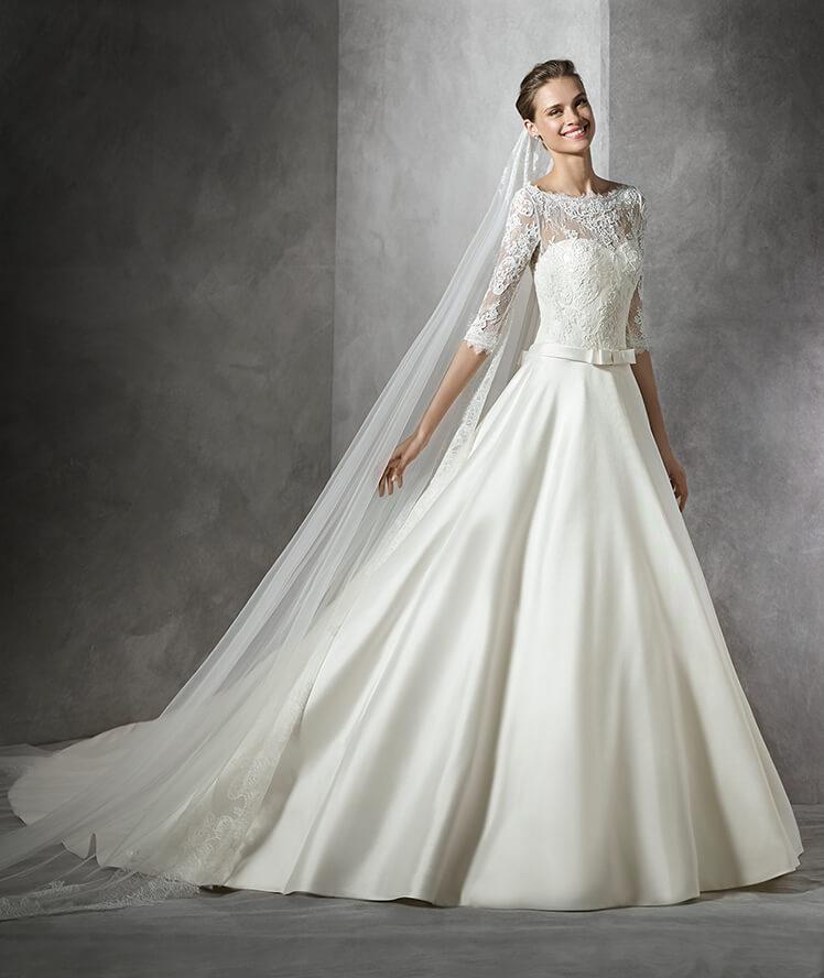 chica luce vestido de novia colección 2017 Modelo Toricela