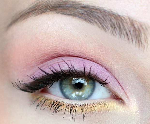 Ojos maquillados primavera 2017