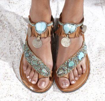 Unas sandalias confortables y bien chic para dama