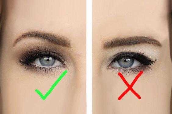 errores a la hora de maquillaje