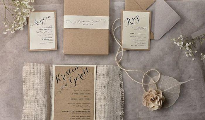 Invitaciones de boda y cómo hacerlas