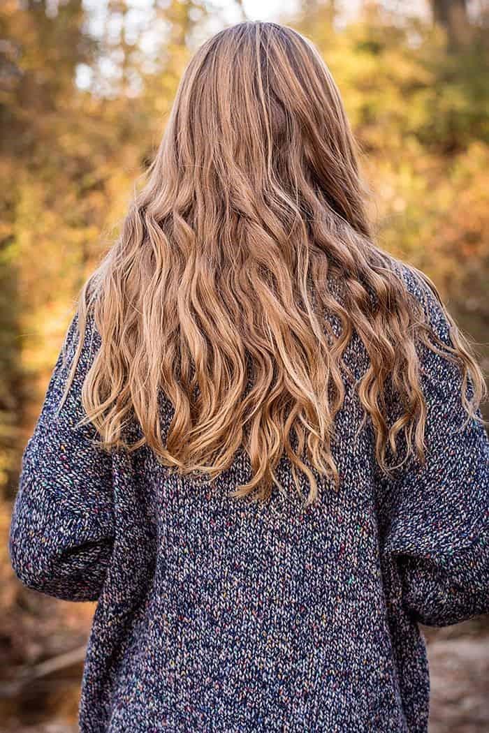 Cortes de cabello en capas largas para pelo lacio