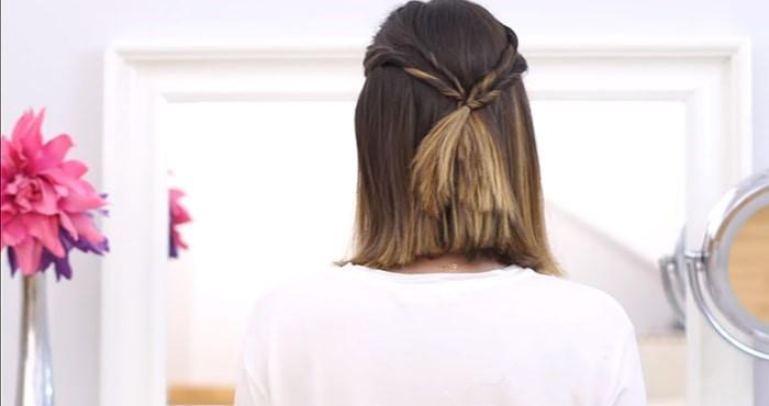 Peinados para invitadas de boda con coletas recogidas