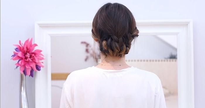 Peinados para invitadas de boda recodigo con trenzas