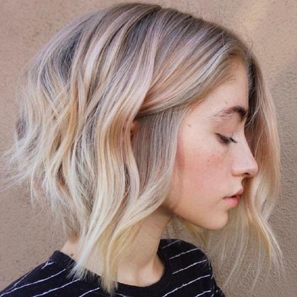 10 ideas para el corte bob largo en capas , Moda y Chicas