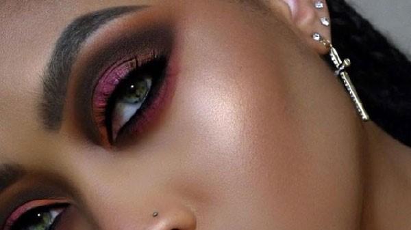 Sombra de ojos para maquillaje de noche