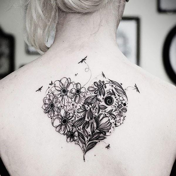 Tatuaje de corazón