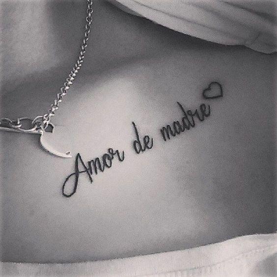 Frases para tatuaje amor de madre